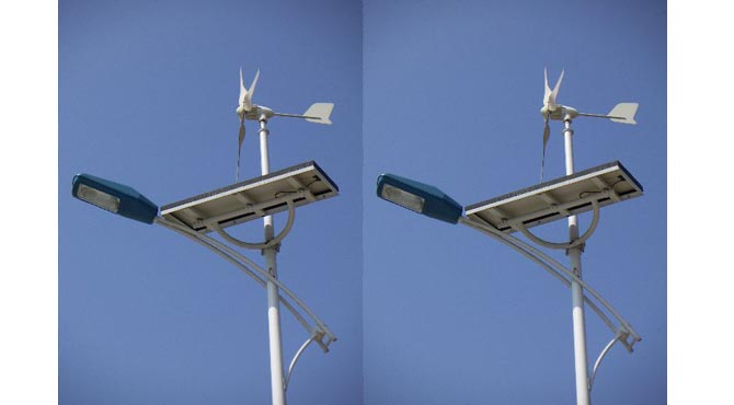Solar wind Hybrid street lights