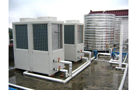 air-source-heat-pump-water-heater-project