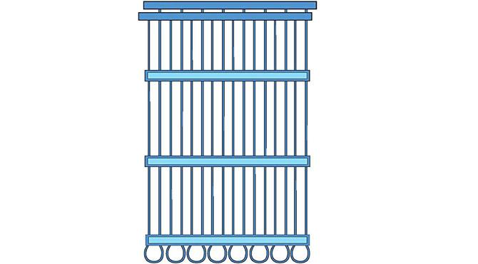 capillary tube mat