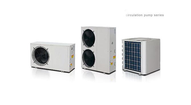 heat pump circulation pump series