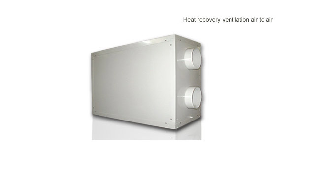 heat recovery ventilation air to air heat pump