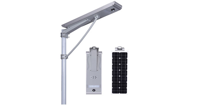 30w integrated solar lamp