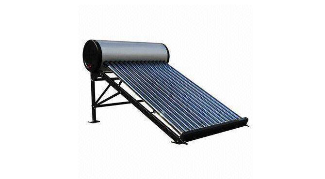 Direct plug glass tubes solar energy water