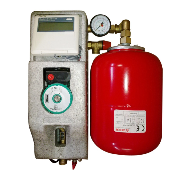 expansion tank and controller