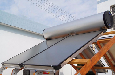 flat plate solar water heater for home