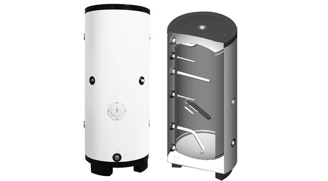 water storage buffer tank