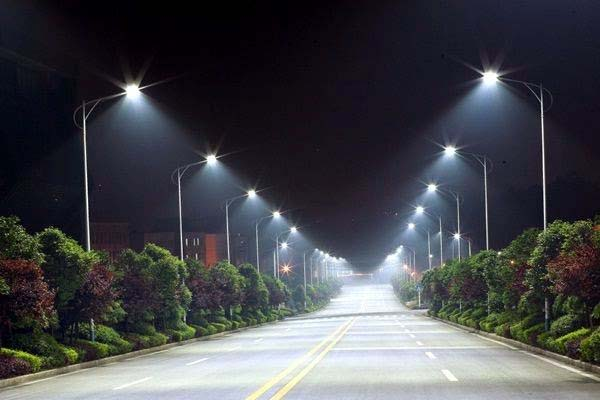led street lights features